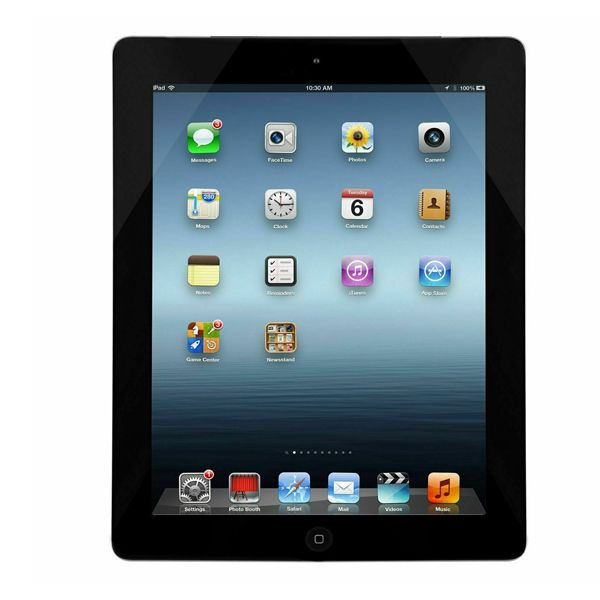 Black Apple iPad 4