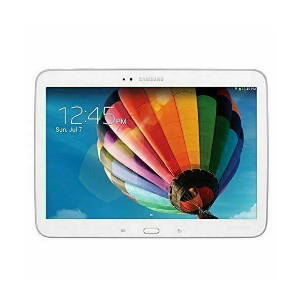 White Samsung Galaxy Tab
