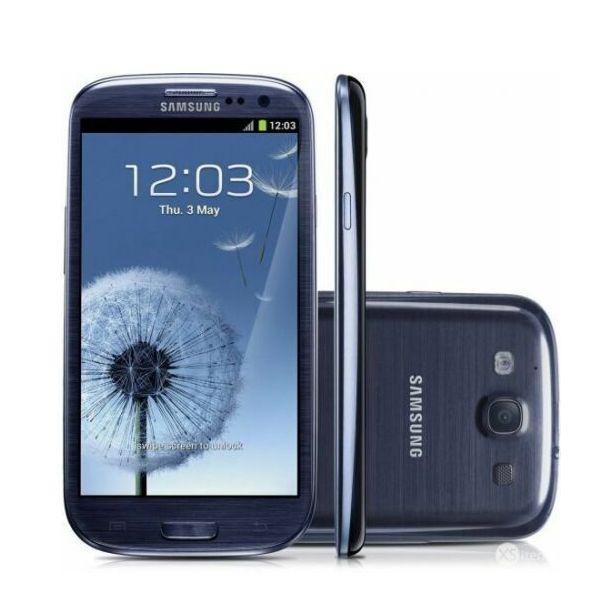 Blue Samsung Galaxy S3