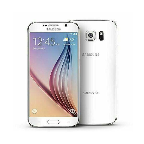 White Samsung Galaxy S6