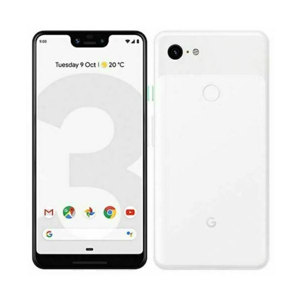 Google Pixel 3 XL - 64GB - Clearly White (Unlocked) Smartphone - Grade A