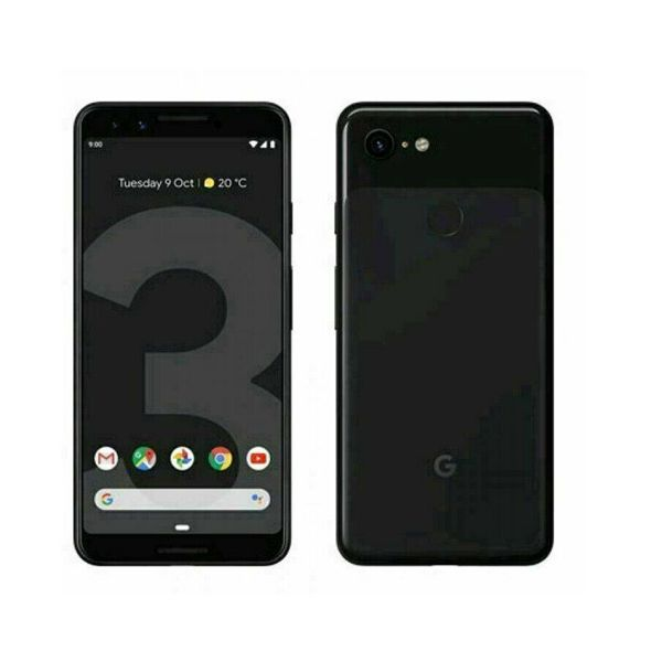 Grade A Google Pixel 3 - 64GB - Just Black (Unlocked) Smartphone
