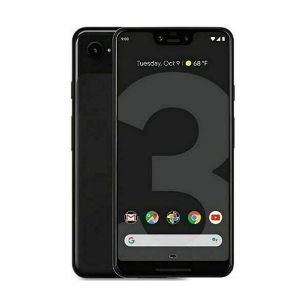 Google Pixel 3a XL - 64GB - Just Black (Unlocked) Smartphone - Good Condition