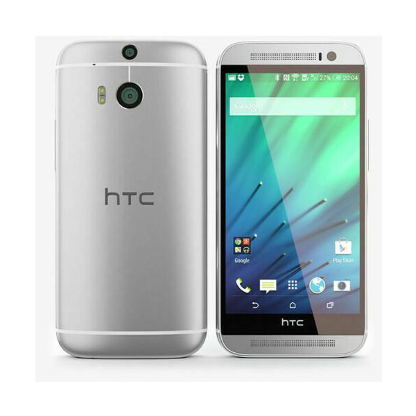 HTC One M8 - 16GB - Glacial Silver (Unlocked) Smartphone