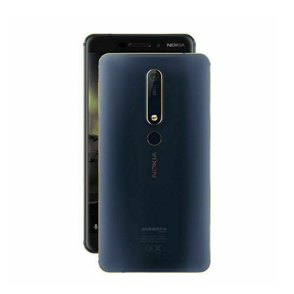 Nokia 6 - 32GB - Tempered Blue (Unlocked) Smartphone