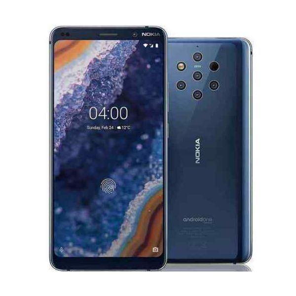 Nokia 9 PureView - 128GB - Midnight Blue (Unlocked) Smartphone - Grade A