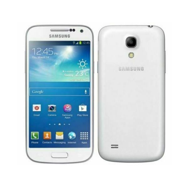 Samsung Galaxy S4 mini GT-I9190 - 8GB - White (Unlocked) Smartphone