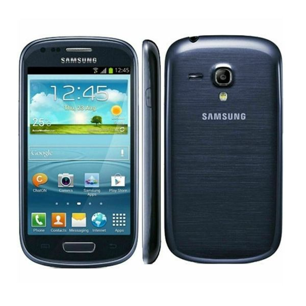Samsung Galaxy S3 III Mini GT-I8190 - 8GB - Pebble Blue (Unlocked) Smartphone