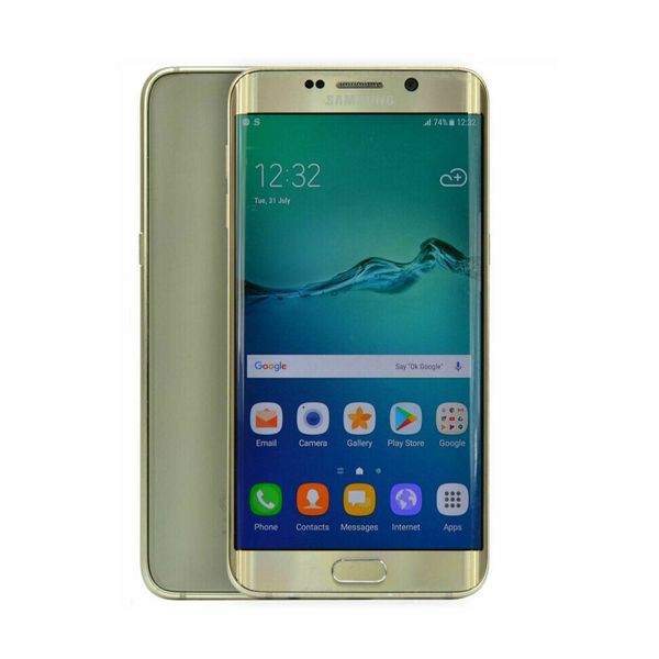 Samsung Galaxy S6 edge+ Plus - 32GB - Gold Platinum (Unlocked) Smartphone