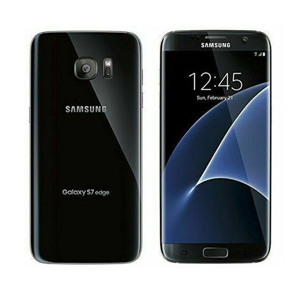 Samsung Galaxy S7 edge SM-G935 - 32GB - Black (Unlocked) Smartphone - Grade A