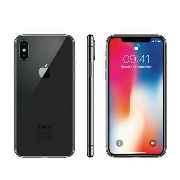 Apple iPhone X - 256GB - Space Grey (Unlocked) Smartphone - Good Condition