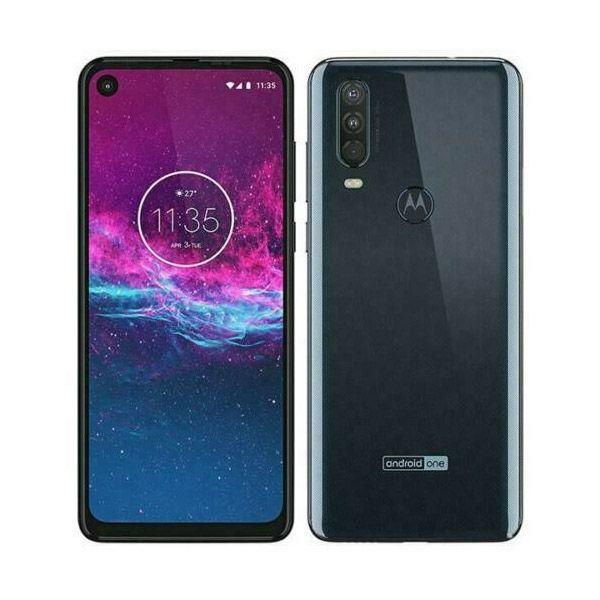 Motorola One Action - 128GB - Denim Blue