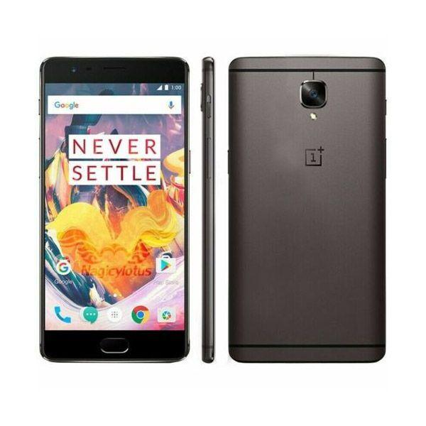 OnePlus 3T (Dual SIM) - Grey - 64GB